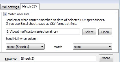 a-pdf automail based on csv