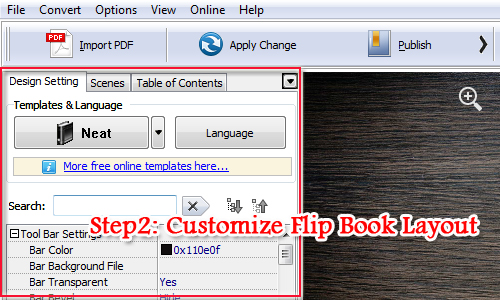Convert PDF to Page Turning eBook