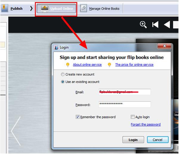 login online service
