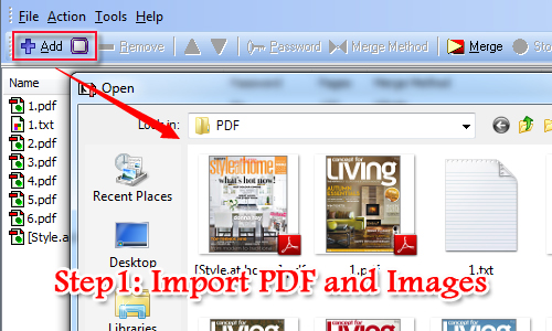 How to merge PDF files easily on Mac OS? [A-PDF com]