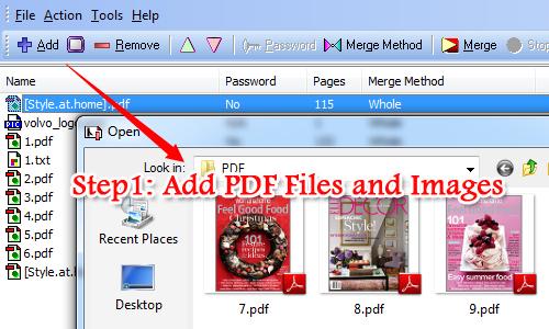 modify PDF properties with A-PDF Merger