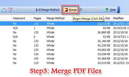 modify PDF properties with A-PDF Merger
