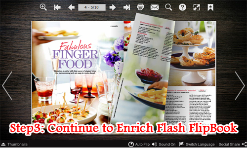 stamp text or image watermark to digital magazine