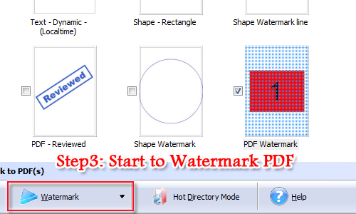 add a PDF watermark to PDF file