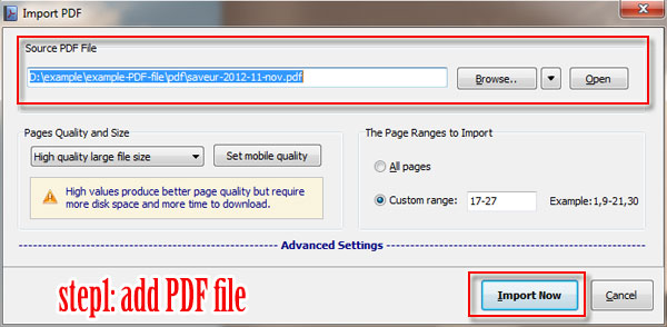 How can I insert swf file into flash brochure? [A-PDF com]