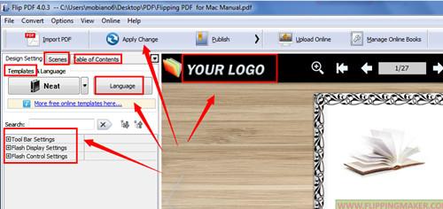 create a Joomla Plugin of digital magazine with A-PDF FlipBook Maker2