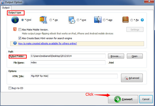 detect wide page of PDF files and convert it to Flash Flipbook5