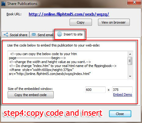 Embed Code In Pdf