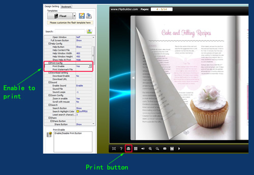 can my readers print out my flip book online a pdf com