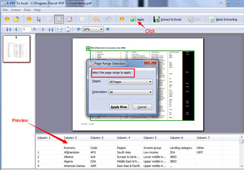 extract PDF Table and bulit it to excel file1