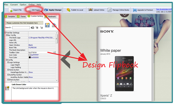Output Html5 Format Flipbook For Website A Pdf Com