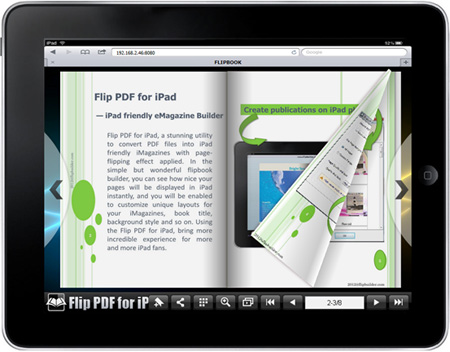 a-pdf to flipbook for mac supports mobile devices