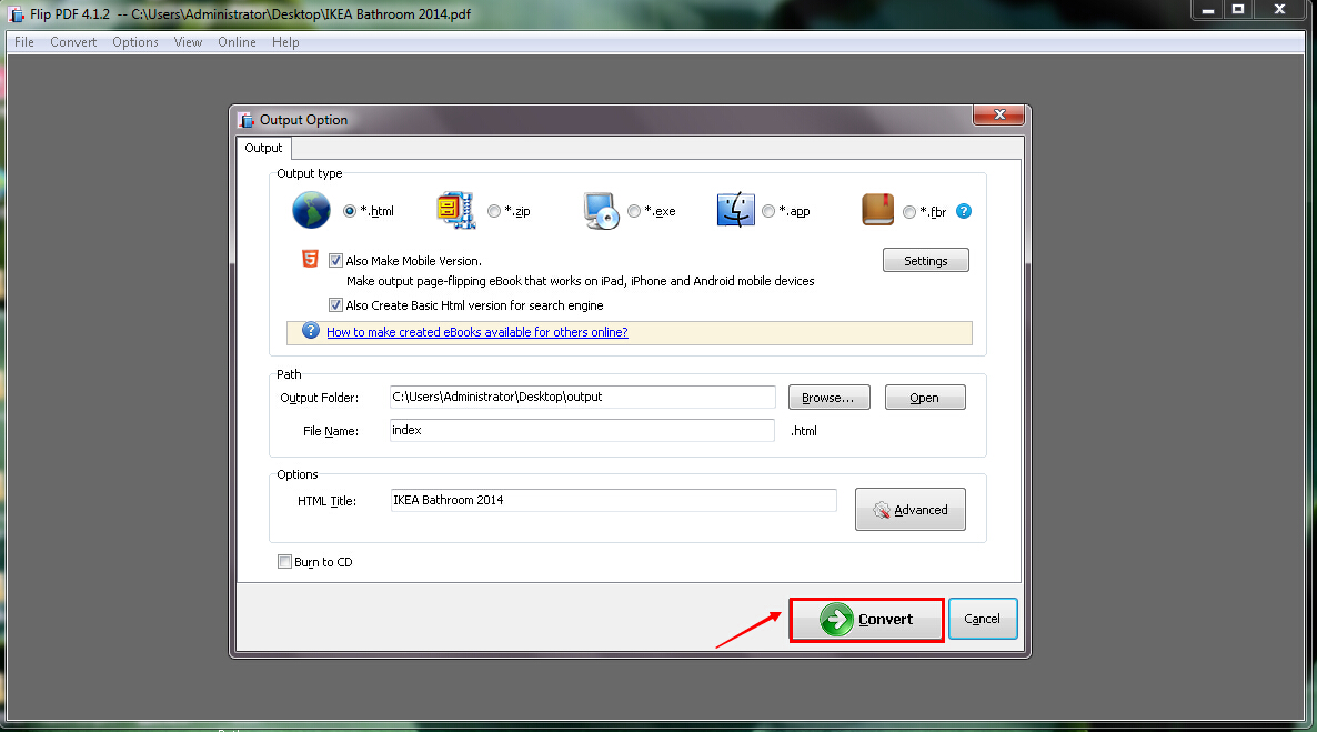 How can I add a password protection to online digital magazine by using A-PDF To Flash?