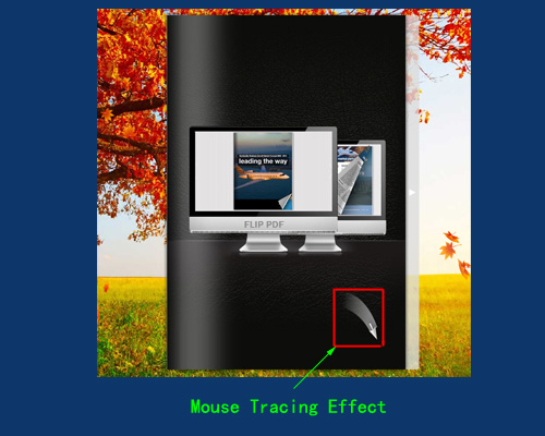 mouse tracing effect