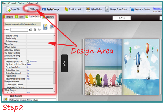 Three Steps To Convert Pdf To Html5 Flipbook A Pdf Com