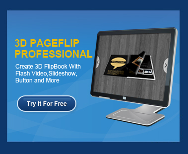 3D PageFlip Pro : Convert PDF to Flash Flipping Book